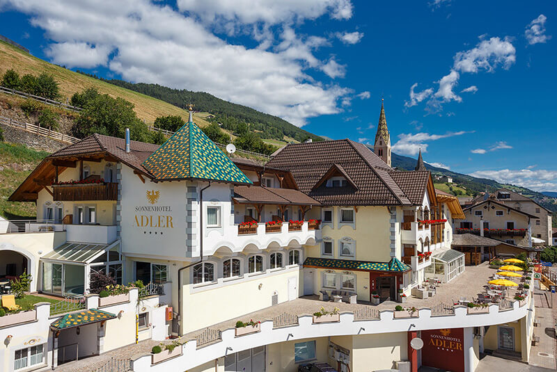 Sonnenhotel Adler Spa & Nature Adults only in Villanders Südtirol