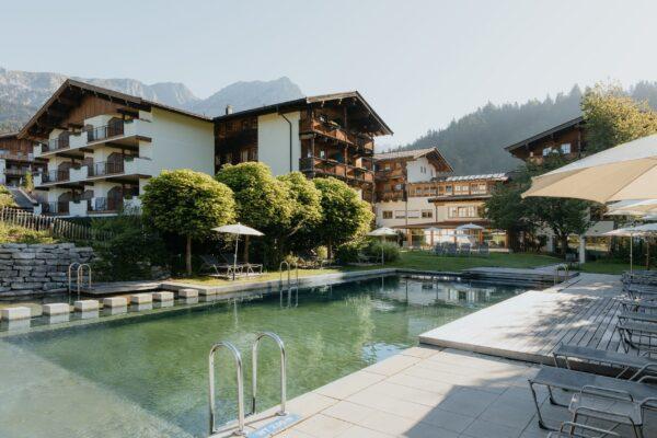 Hotel Kaiser Scheffau Hotelprospekt